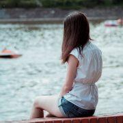 looking at boat